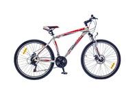 "Велосипед Optimabikes F-1 AM DD SKD 26"" Al бело-красный 18"""