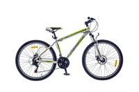 "Велосипед Optimabikes F-1 AM DD SKD 26"" Al бело-зеленый 16"""