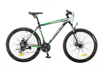 "Велосипед Optimabikes F-1 AM DD SKD 26"" Al  черн-бело-зеленый"