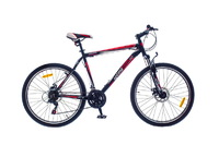 "Велосипед Optimabikes F-1 AM DD SKD 29"" Al черно-красный"