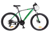 Велосипед Optimabikes F-1 AM DD 26 Al черно-зеленый 2018