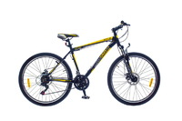 "Велосипед Optimabikes F-1 AM DD SKD 26"" Al черно-желтый 20"""