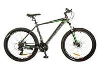 Велосипед Optimabikes F-1 AM DD SKD 26 Al 19 серо-зеленый