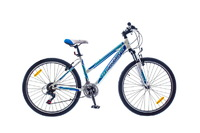 "Велосипед Optimabikes SKD 26"" F-2 AM Vbr Al бело-синий"