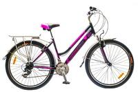 """Велосипед Optimabikes JUSMINE AM 14G 26"""" St черно-фиолетовый"""