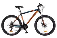 Велосипед Optimabikes MOTION AM 14G DD Al 26 черно-оранжевый с синим 2018