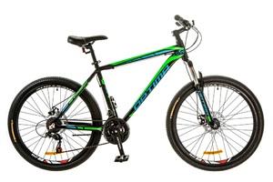 Велосипеды Optimabikes, Велосипед Optimabikes MOTION AM 14G DD Al 26 черно-зеленый