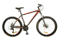 Велосипед Optimabikes MOTION AM 14G DD Al 26 серо-красный
