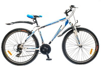 "Велосипед Optimabikes SPRINTER AM 14G 26"" рама-17"" St бело-синий"