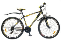 "Велосипед Optimabikes SPRINTER AM 14G 26"" рама-19"" St черно-желтый"