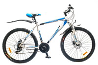 "Велосипед Optimabikes SPRINTER AM 14G DD 26"" рама-19"" St бело-синий"