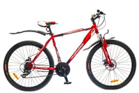 "Велосипед Optimabikes SPRINTER AM 14G DD 26"" рама-19"" St красно-белый"
