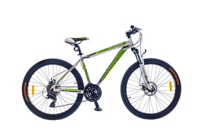 "Велосипеды Optimabikes, Велосипед Optimabikes THOR AM DD 26"" рама-17"" Al бело-зеленый"