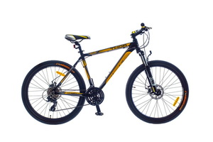 "Велосипеды Optimabikes, Велосипед Optimabikes THOR AM DD 26"" рама-17"" Al черно-желтый"