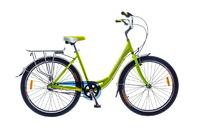Велосипед Optimabikes VISION PLANETARY HUB Al зеленый с багажником 2014