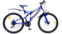 """Велосипеды Formula, Велосипед Formula OUTLANDER AM2 14G 26"""" DD St синий"""