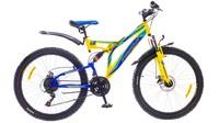 """Велосипеды Formula, Велосипед Formula OUTLANDER AM2 14G 26"""" DD St желто-синий"""