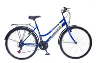 "Велосипеды Discovery, Велосипед Discovery PRESTIGE AM2 14G 26"" St синий"