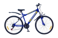 "Велосипед Discovery TREK AM 14G 26"" St синий"