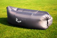 Надувной диван - шезлонг серый