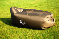 Надувной диван - шезлонг хаки