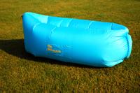 Надувной диван - шезлонг голубой