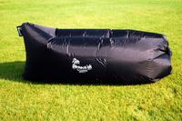 Надувной диван - шезлонг черный