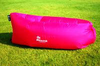Надувной диван - шезлонг розовый