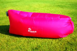 Гамаки, Надувной диван - шезлонг розовый