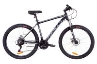 Велосипед Formula THOR 1.0 AM 14G DD рама-19 Al черно-серый с белым 2019