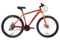 Велосипед Formula THOR 1.0 AM 14G DD рама-19 Al оранжево-черный с бирюзовым 2019