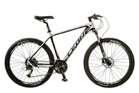 "Велосипед Leon XC-70 AM 14G HDD 27.5"" 20 черно-белый 2017"