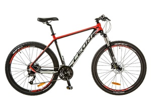 """Велосипеды Leon, Велосипед Leon XC-70 AM 14G HDD 27.5"""" 18 черно-красный 2017"""