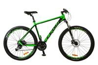 """Велосипед Leon XC-70 AM 14G HDD 27.5"""" 18 черно-зеленый 2017"""