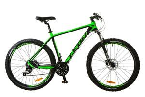 """Велосипеды Leon, Велосипед Leon XC-70 AM 14G HDD 27.5"""" 20 черно-зеленый 2017"""
