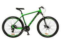 """Велосипеды Leon, Велосипед Leon XC-80 AM 14G DD 27.5"""" 20 черно-зеленый 2017"""