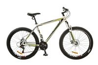"Велосипеды Optimabikes, Велосипед Optimabikes GRAVITY AM 14G DD 19"" Al 27.5 бело-зеленый 2017"