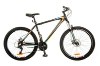 "Велосипед Optimabikes GRAVITY AM 14G DD 19"" Al 27.5 черно-оранжевый 2017"