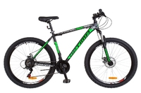 "Велосипед Optimabikes GRAVITY AM 14G DD 19"" Al 27.5 черно-зеленый 2018"