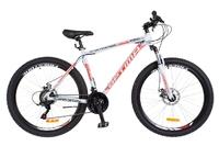 "Велосипед Optimabikes GRAVITY AM 14G DD 19"" Al 27.5 серый с оранжевым 2018"