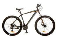 Велосипед Optimabikes F-1 AM DD SKD 27.5 Al черно-оранжевый