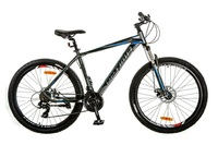 Велосипед Optimabikes F-1 AM DD SKD 27.5 Al серо-синий
