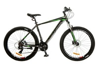 Велосипед Optimabikes F-1 AM HDD SKD 26 Al серо-зеленый