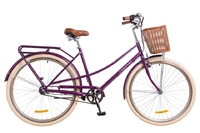 "Велосипед Dorozhnik COMFORT FEMALE PLANETARY HUB 14G 28"" фиолетовый 2018"