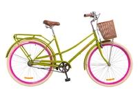 """Велосипед Dorozhnik COMFORT FEMALE 14G 28"""" салатный 2018"""