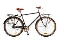 "Велосипед Dorozhnik COMFORT MALE PLANETARY HUB 14G 28"" черный 2017"