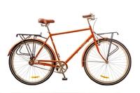 "Велосипед Dorozhnik COMFORT MALE PLANETARY HUB 14G 28"" коричневый 2017"