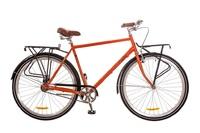 "Велосипед Dorozhnik COMFORT MALE PLANETARY HUB 14G 28"" оранжевый 2017"
