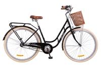 "Велосипед Dorozhnik RETRO PLANETARY HUB 14G 28"" черный 2018"