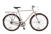 """Велосипед Dorozhnik URBAN 14G 24"""" белый с багажником 2017"""